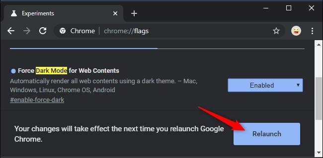 Restart Chrome after enabling the flag.